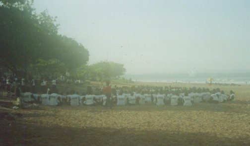 Legian Beach...Sunday Morning