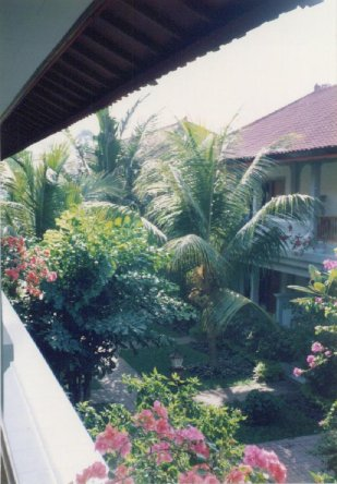 view from second storey room